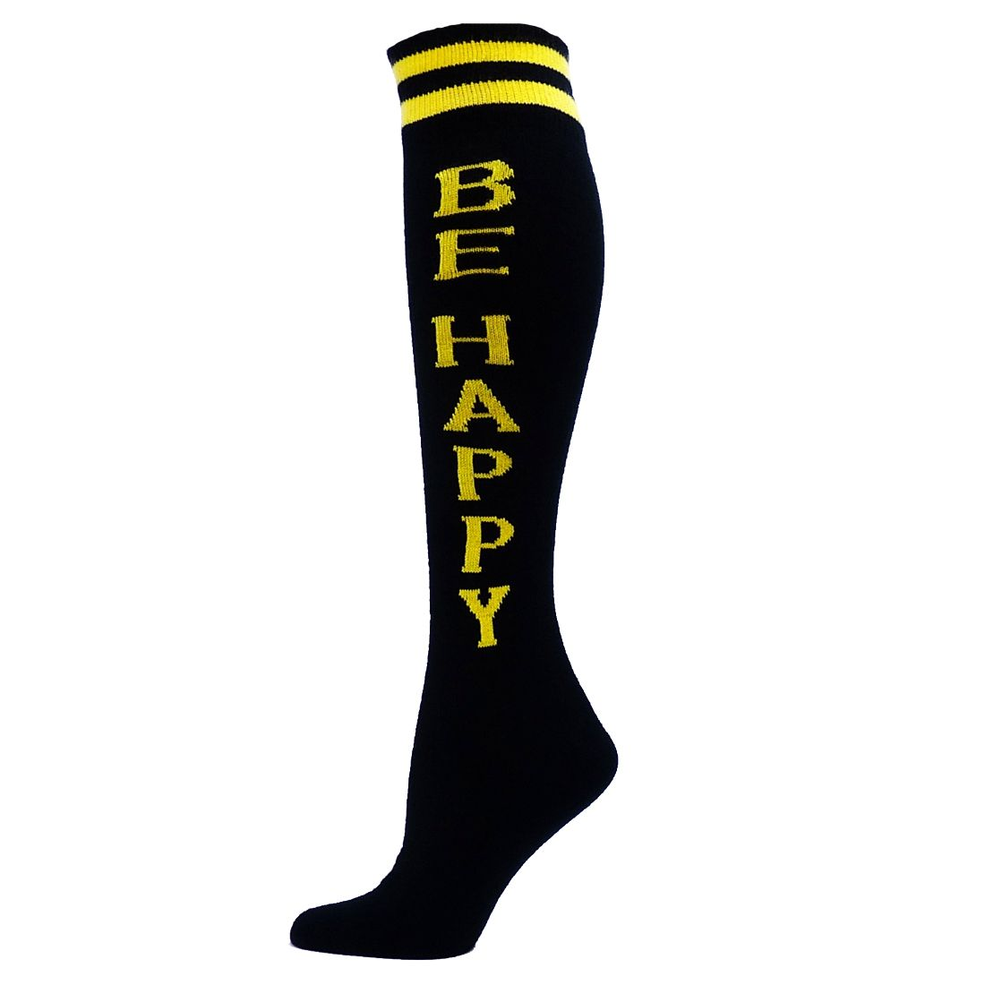 Be Happy Word Socks