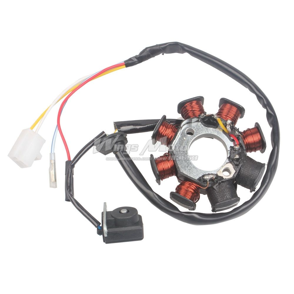 Gy6 8 Coil Stator Wiring Diagram Simple 150cc Go Kart
