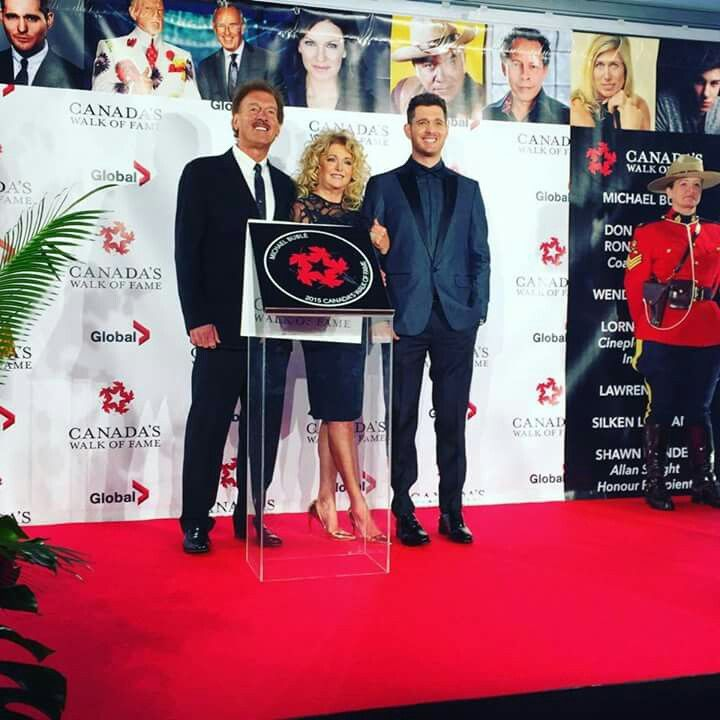 Canadian Walk of Fame ... Michael Buble