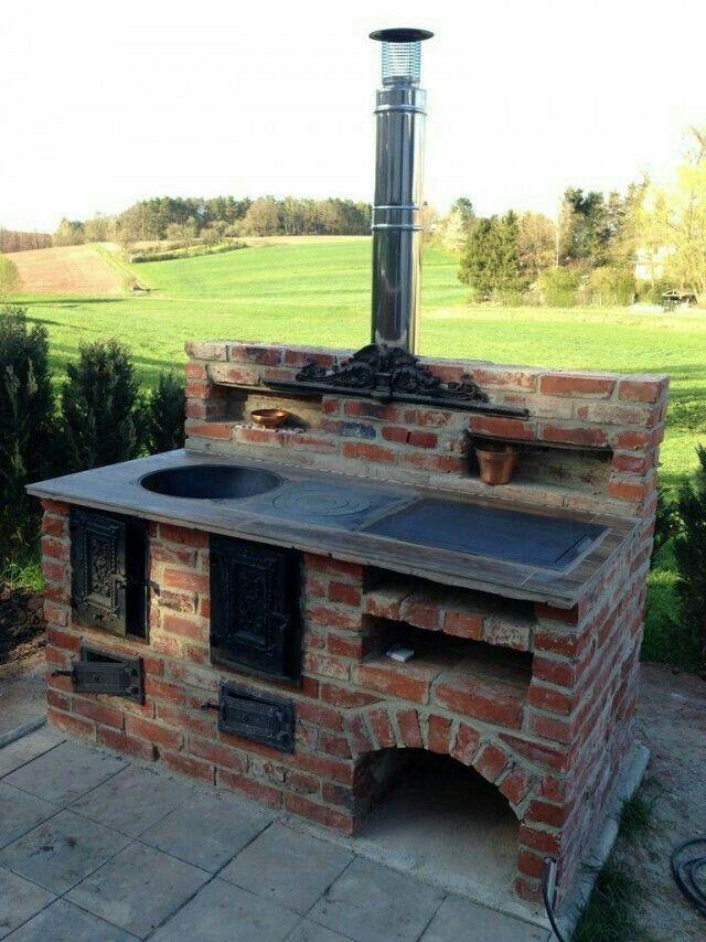 Kamin draußen Zukünftige Projekte Pinterest Gardens, Oven and