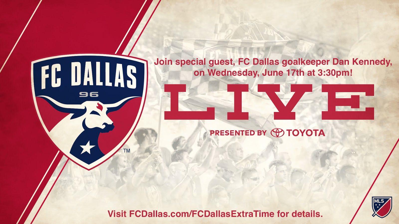 FC Dallas Live with Dan Kennedy | TheGinaMiller.com