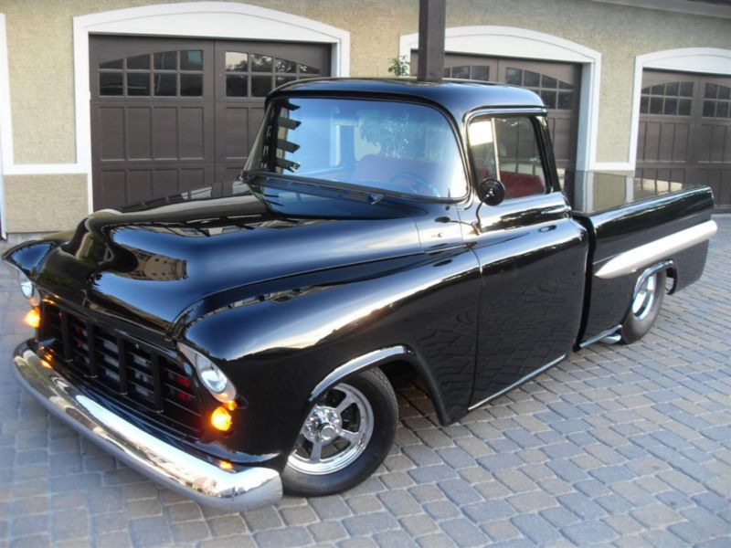 1957 chevy pro street truck billy lane custom build frame off 454 cool cars trucks. Black Bedroom Furniture Sets. Home Design Ideas