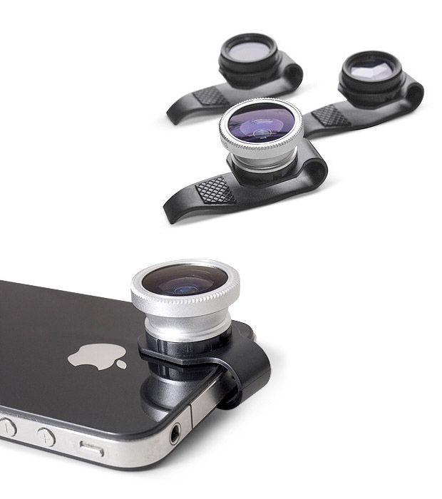 gizmon clip-on lenses for iPhone