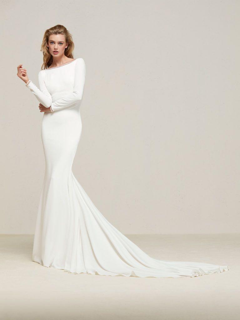 chic minimal wedding dresses for modern brides wedding dresses