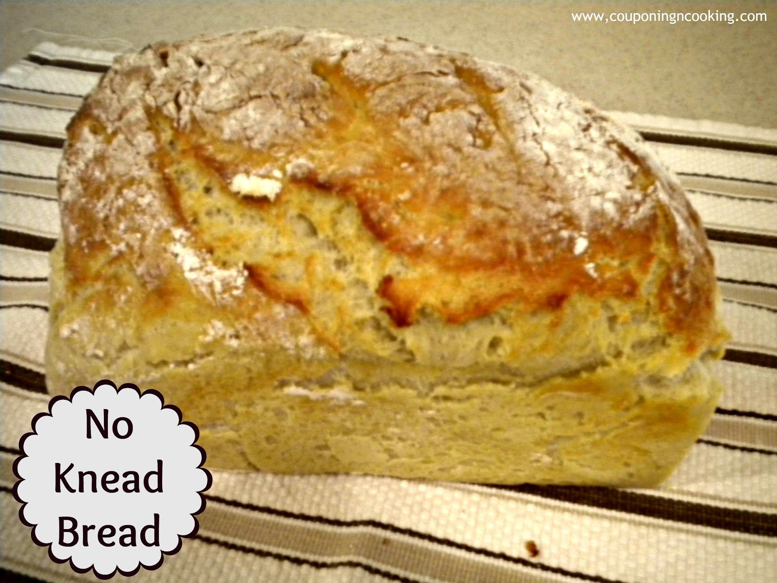 Couponing & Cooking: Homemade Bread Challenge: Simple No Knead Bread