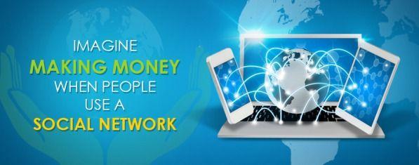 Imagine Making Money When People UEA #Socialnetwork