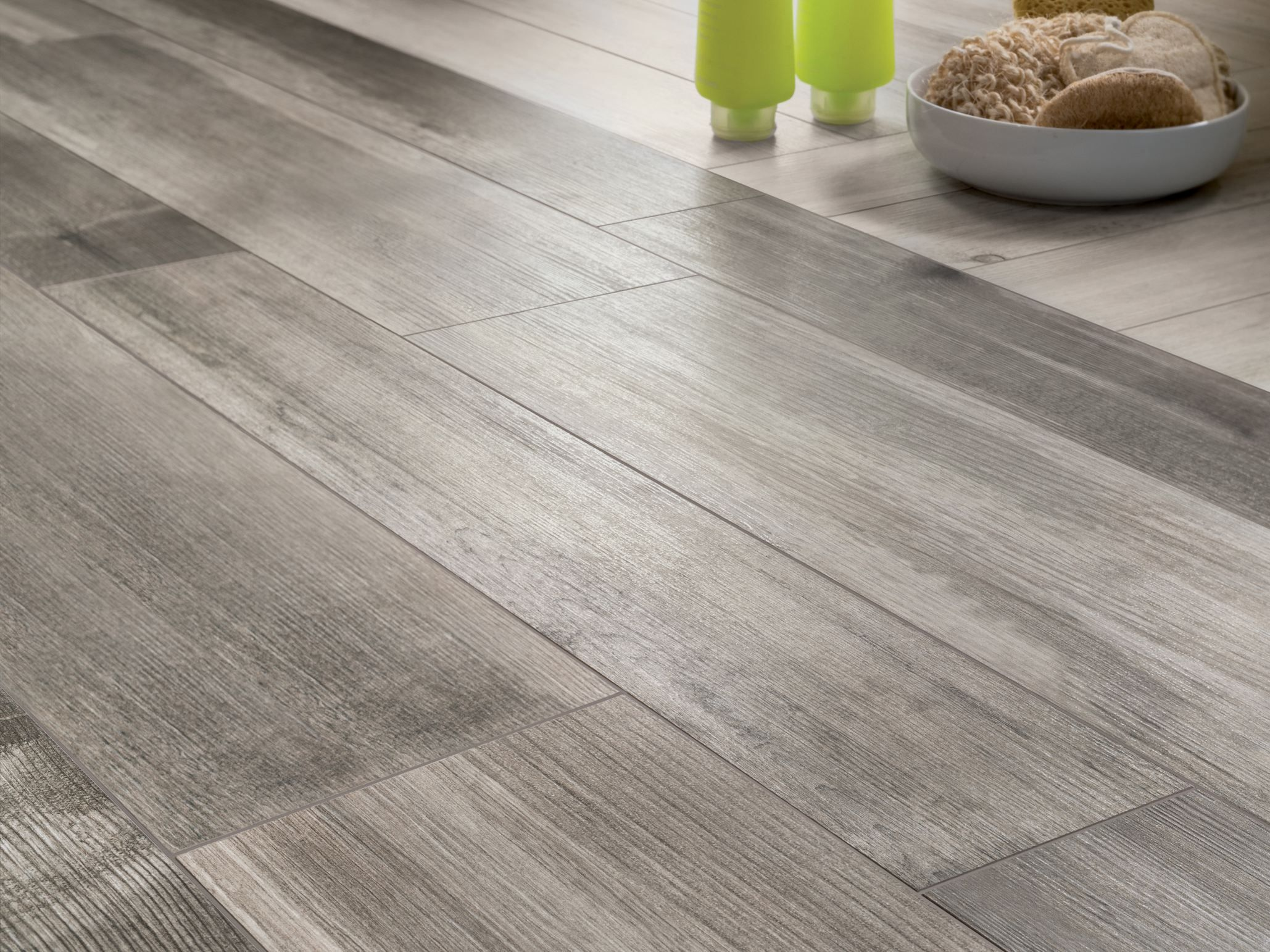 Kitchen floor tiles wood effect - Find This Pin And More On Simil Madero Medium Grey Wooden Floor Tiles