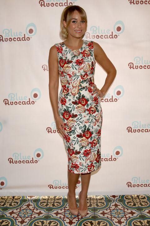 We love Lauren Conrad in florals - see some of her other best outfits here. Click for more!