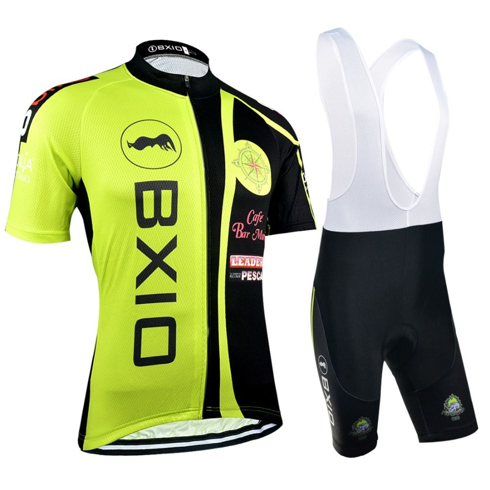 2b70d2650 2017 BXIO New Brand MTB Cycling Sets Men s Bike Clothing Pro Team ...