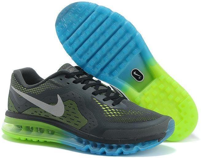 996df810491d Nike Air Max 2014 Blue Green Grey
