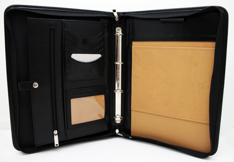 0df1a691ce63 Noda Executive Leather Padfolio Professional Business Portfolio w ...