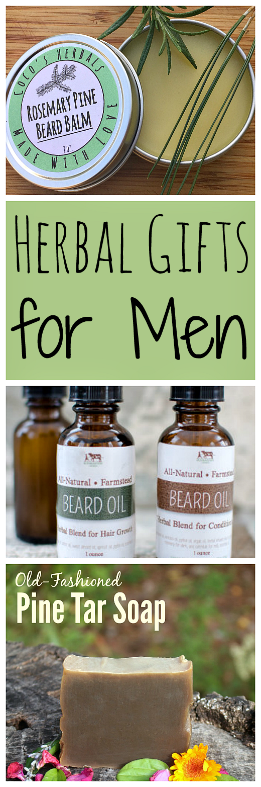 DIY Herbal Gifts for Men | Grow Forage Cook Ferment | Diy ...