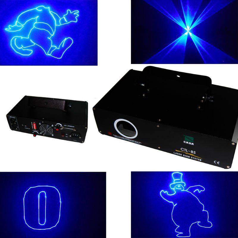 New China dj equipment 500mW Blue Animation ILDA DMX DJ