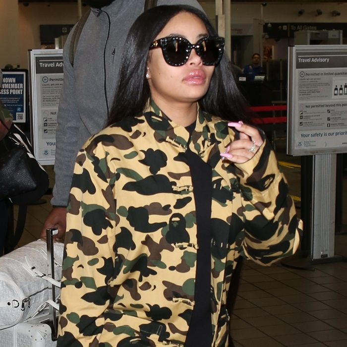 e60ede3b81d Blac Chyna at Los Angeles International Airport arrivals