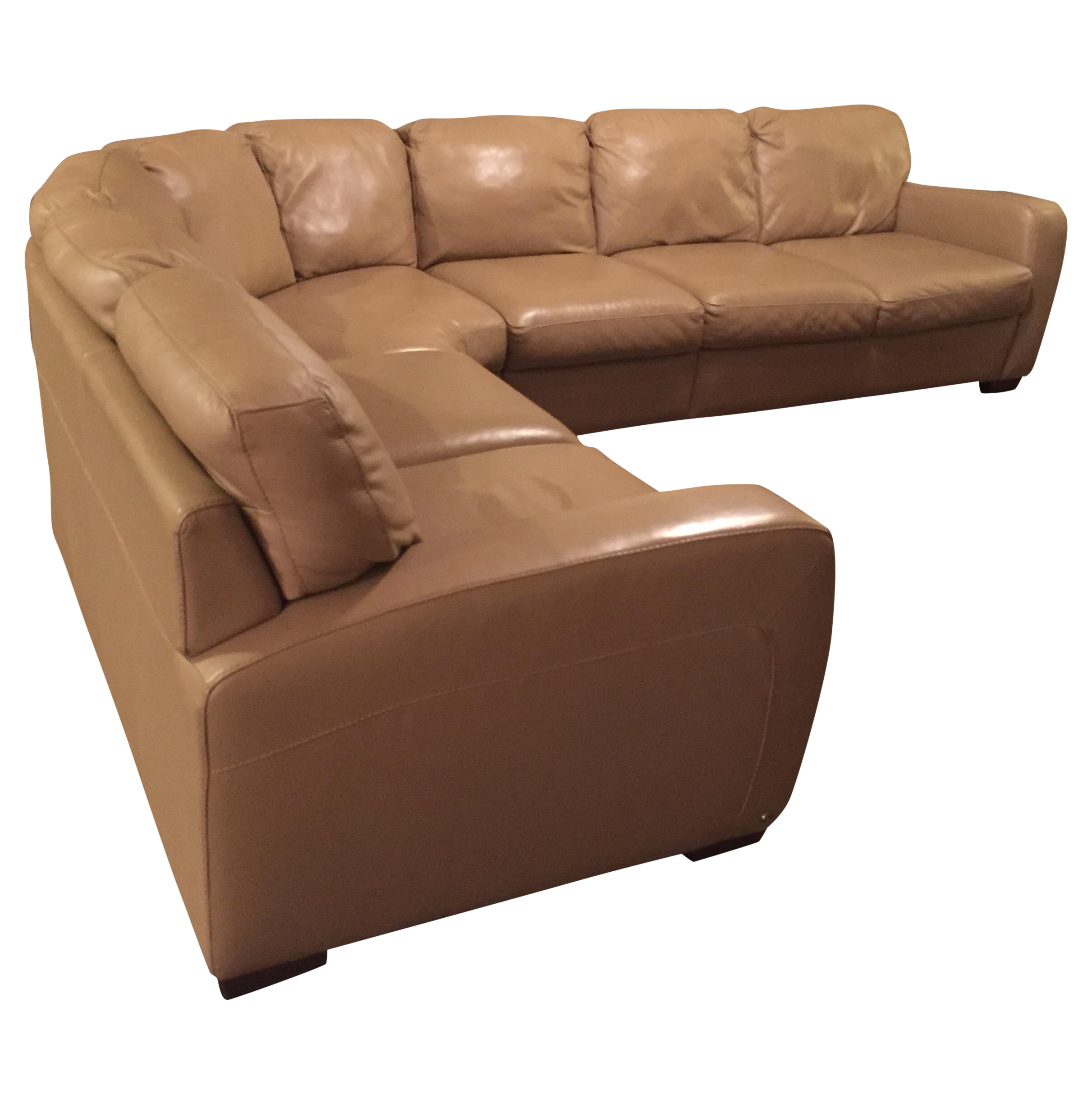 Natuzzi Leather Sectional Sofa Leather sectional Leather
