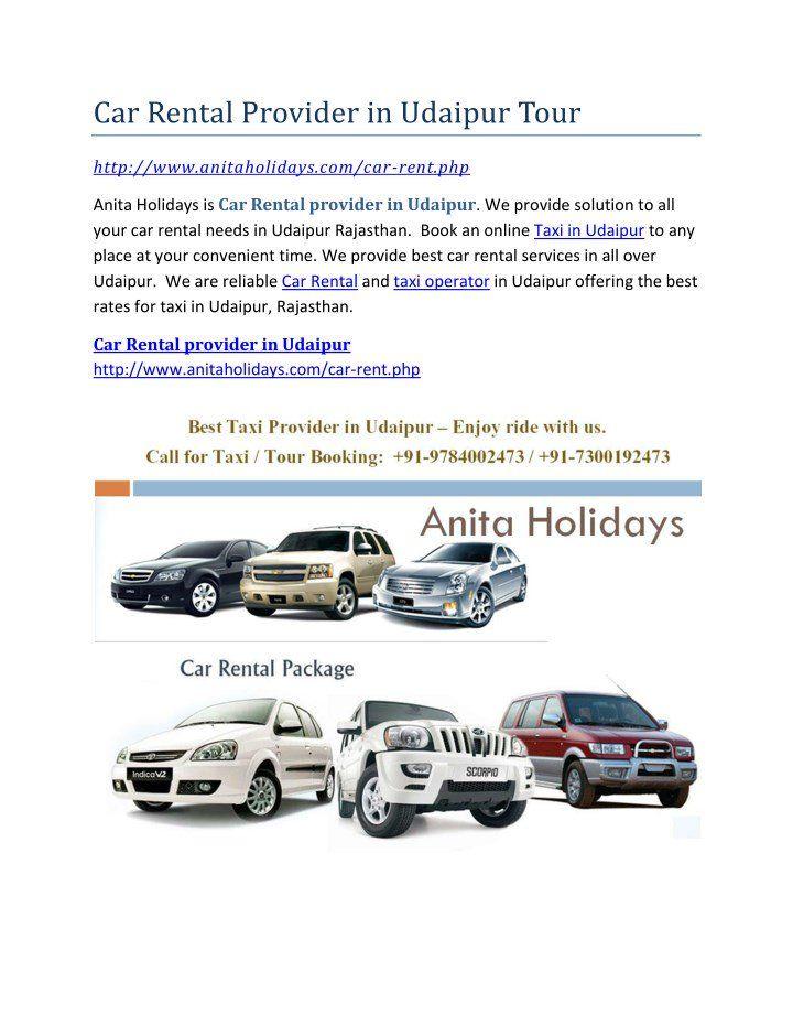 Car Rental Provider In Udaipur Tour Car Rental Taxi Udaipur