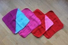 Smarte og funktionelle karklude eller vaskeklude #strik #karklude #vaskeklude
