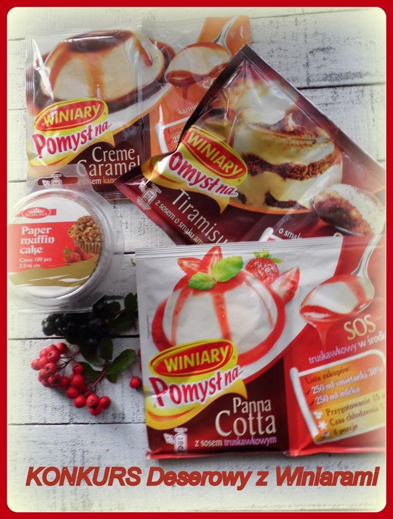 Konkurs Deserowy Z Winiarami Snacks Favorite Recipes Recipes