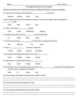 23++ Bill nye the science guy motion worksheet Online