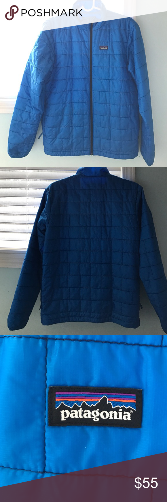 Patagonia Nano Puff Coat Boys nano puff coat, fits like men's small! Great condition only worn once! Patagonia Jackets & Coats Puffers