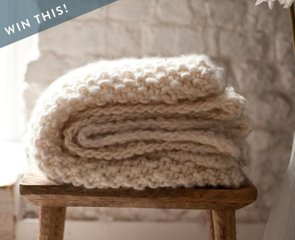 Giveaway win one of five udon blanket knitters kits 125 value win one of five udon blanket knitters kits 125 value solutioingenieria Images