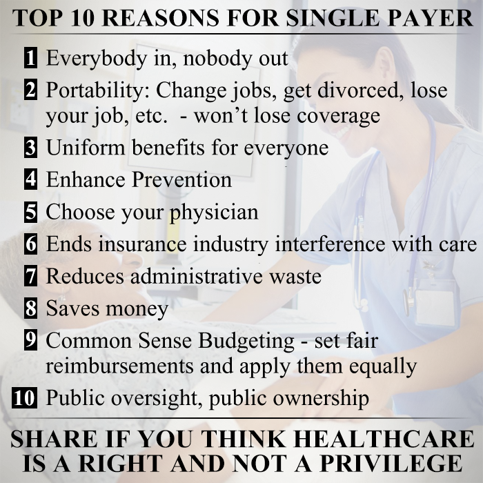 The Only Healthcareplan That Works I Don T Want To Have More Health Care Than Someone Else Becau Changing Jobs Life Insurance Policy Universal Life Insurance
