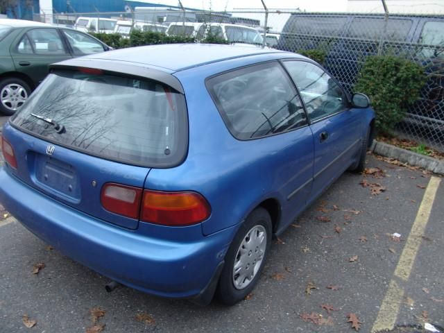 1993 Honda Civic Hatchback The Blue Jelly Bean Great First Car For Both Kids ホンダ