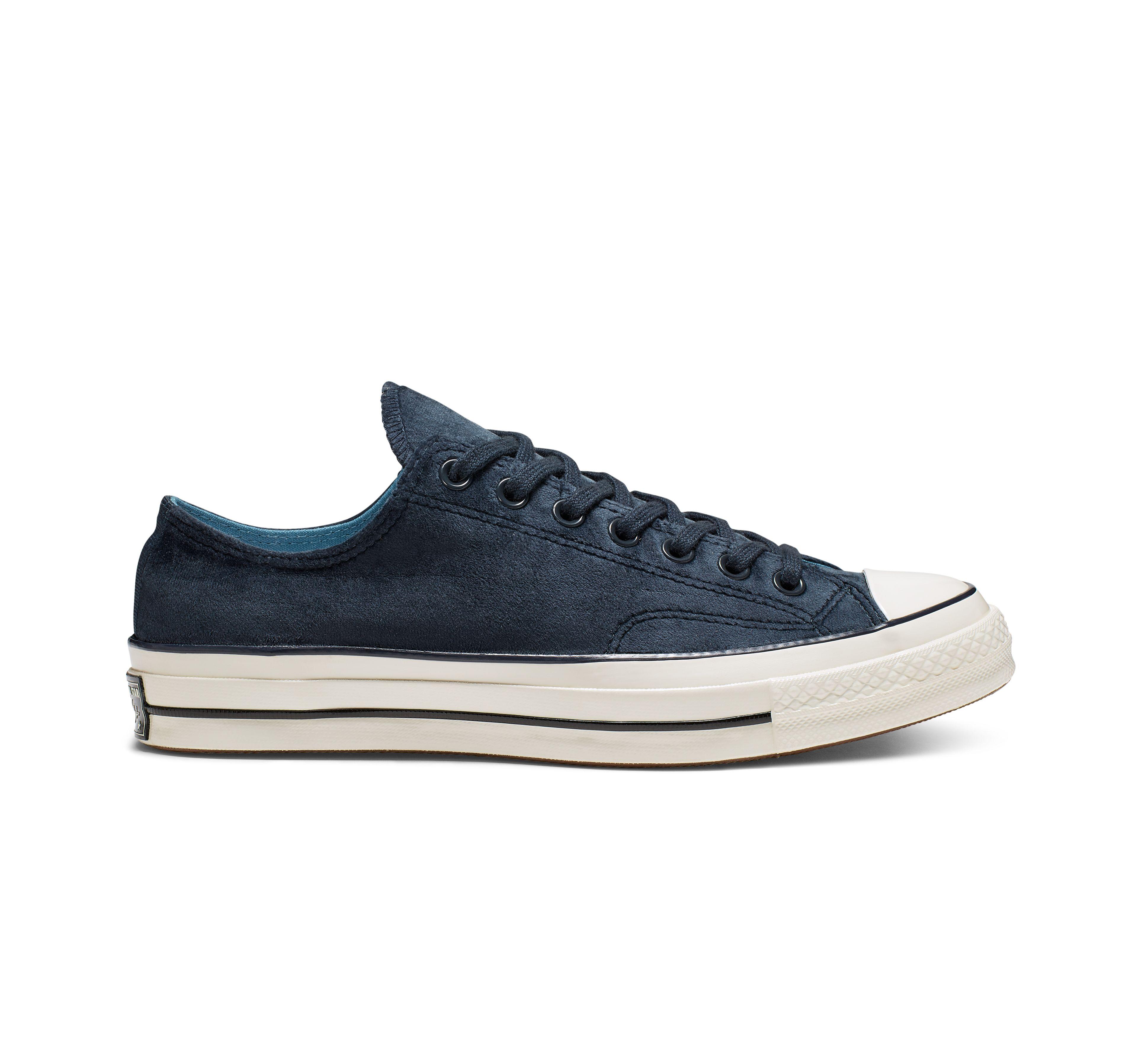 Chuck 70 Velvet Low Top | Velvet shoes, Converse, Chuck