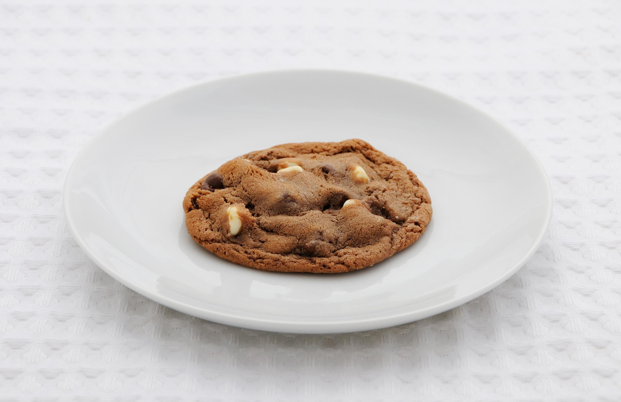 Hot Chocolate Chip Cookies - so.good.  I did 1 c. Andes baking pieces and 2/3 each cups of dark chocolate and milk chocolate pieces.