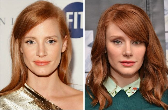30 Celebrities So Incredibly Similar That They Look Like They Were Separated At Birth Celebrities Hello Hair Bryce Dallas Howard