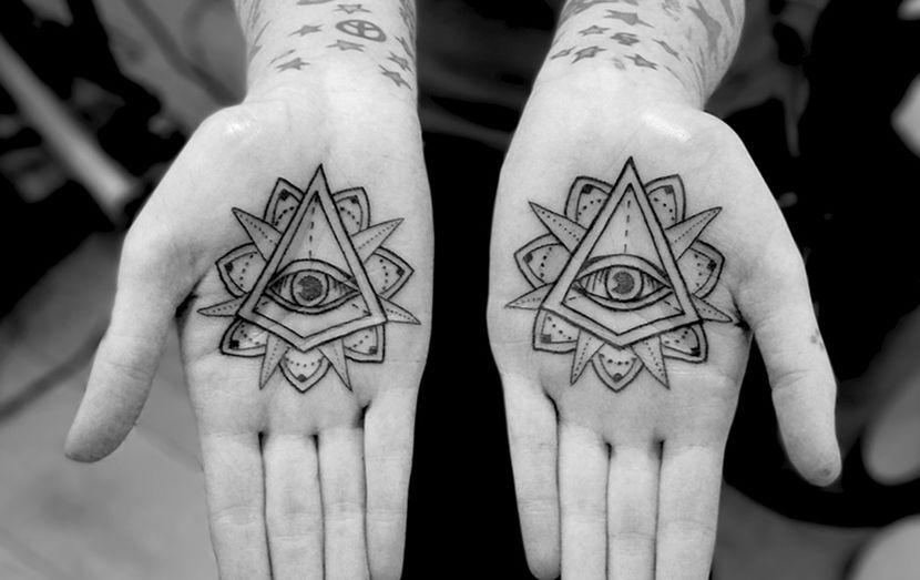 Tatuajes En Las Palmas De Las Manos Otro Lugar Extremo Para