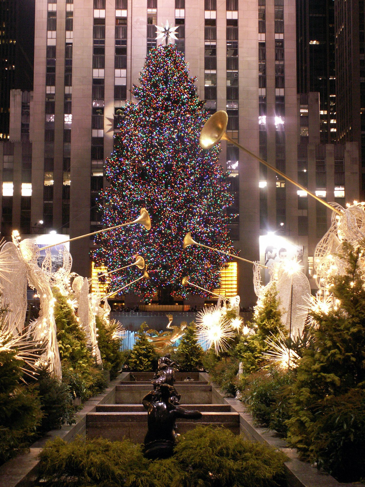 The Christmas Tree At Rockefeller Center In 2020 Rockefeller Center Christmas Tree Rockefeller Center Christmas New York Christmas