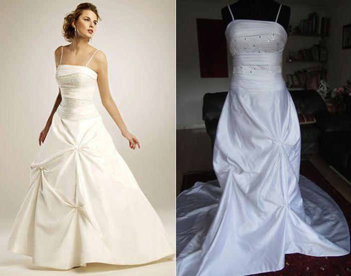 Shruthi In A Dreamy One Shoulder Pronovias Dress: Fake Wedding Dress