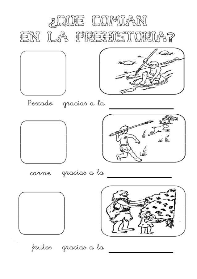 Fichas Prehistoria Prehistoria Prehistoria Primaria La Prehistoria Para Niños