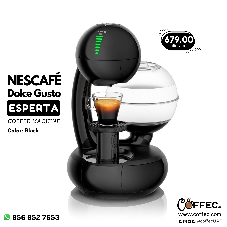 Nescafe Dolce Gusto Esperta Coffee Machine Black Nescafe Dolce Gusto Coffee Machine