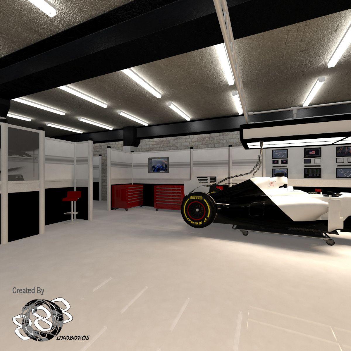 3d Pit Garages Garages Pit Garage