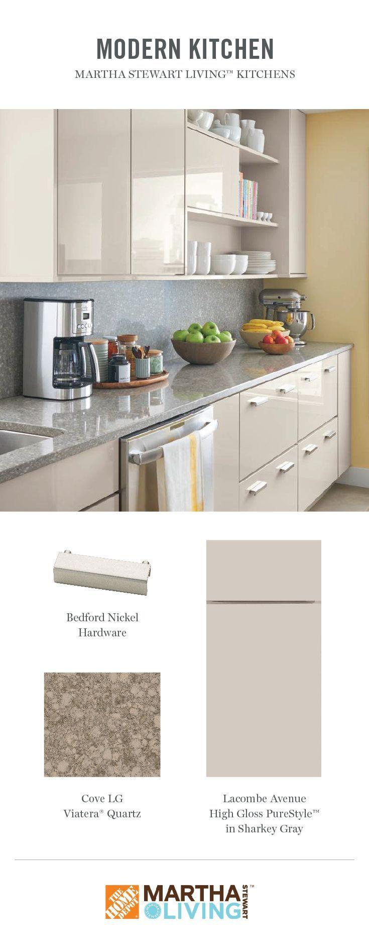 Martha Stewart Sharkey Grey Cabinets Kitchen Cabinets Martha Stewart Kitchen House Makeovers