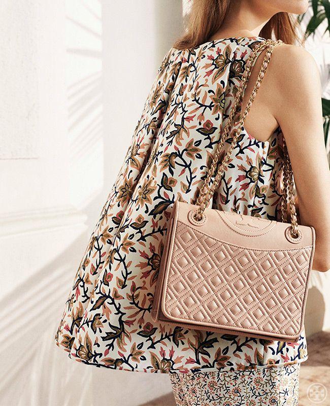 The handbag of the season: The Fleming | Tory Burch Spring 2014