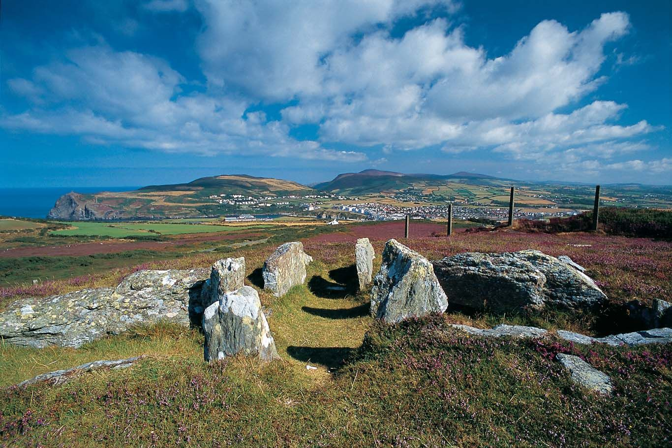 Meayll Circle - Neolithic burial chambers  Isle of Man