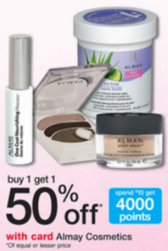 Super High Value 4/1 Almay Cosmetics Coupon in 4/14 Smart