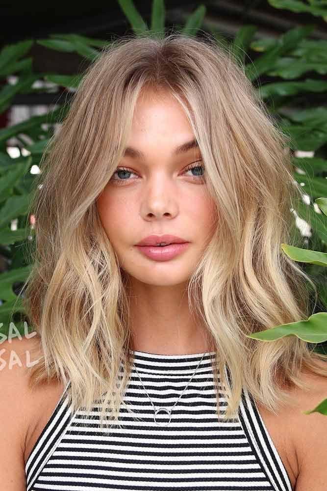 20 Hair Styles For A Blonde Hair Blue Eyes Girl In 2020 Blonde Hair With Highlights Hair Lengths Hair Styles