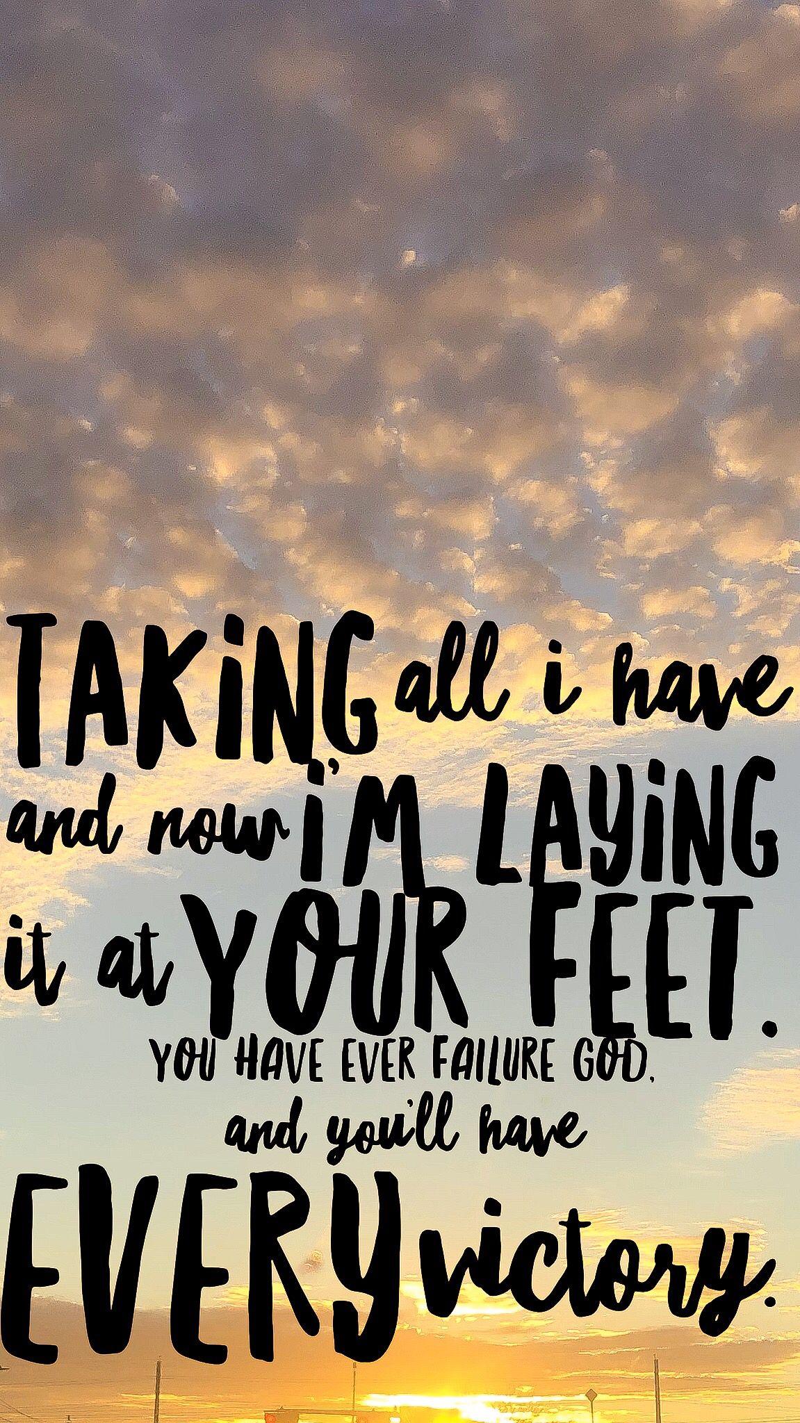 Lauren Daigle you say lyrics 💛 | Christian song quotes ...