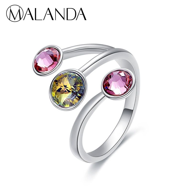 bfe432eff76bb Find More Rings Information about MALANDA New Fashion Open Ring ...