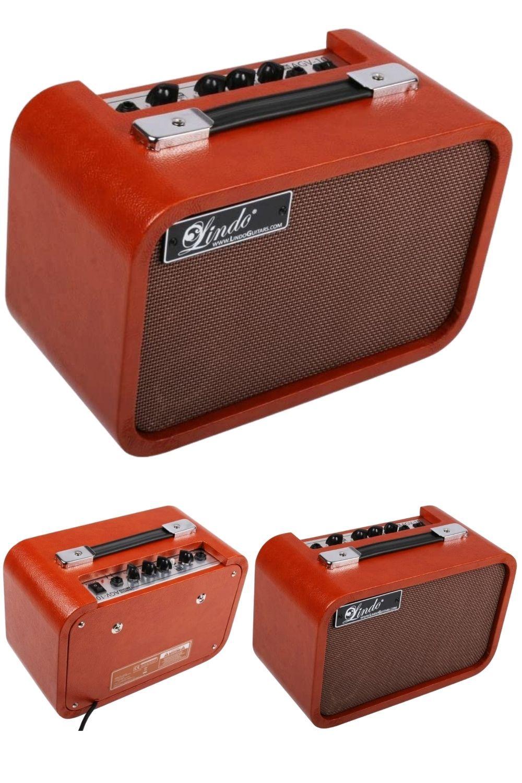 Lindo Agv 10 Vintage Acoustic Electro Acoustic 10w Guitar Amplifier Aged Orange Vintage Guitar Amps Guitar Amp Bass Amps