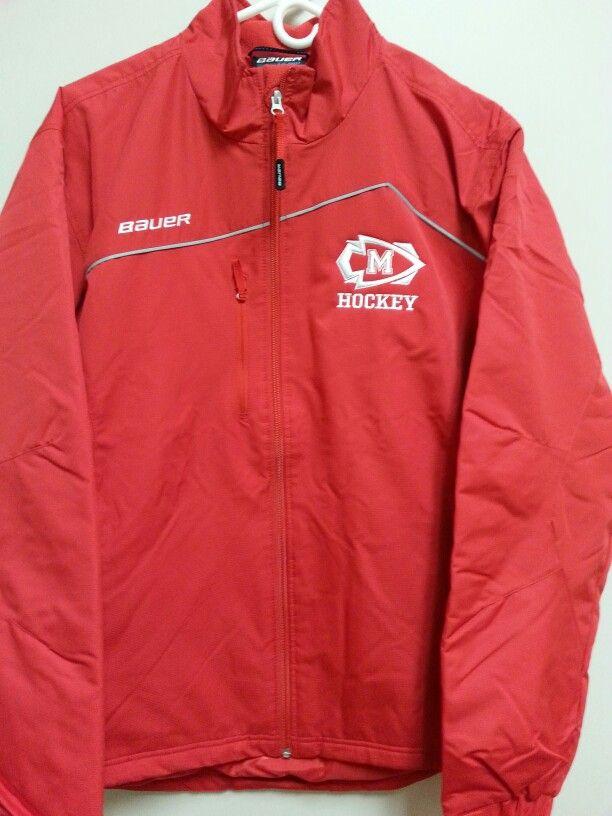 Masco Varsity Hockey Bauer Jacket Jackets Adidas Jacket Athletic Jacket