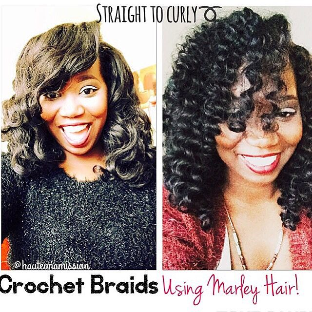 Transitioning My Crochet Braids From Straight To Curly Crochet