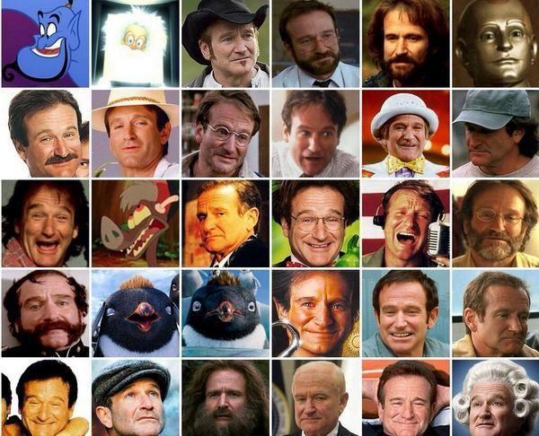 Las múltiples caras de Robin Williams pic.twitter.com/Av659Xwf3W