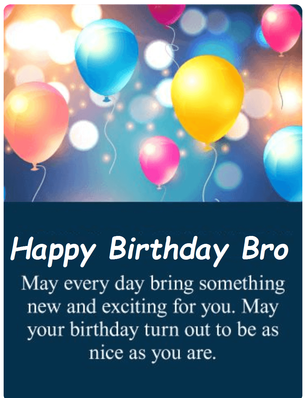 Happy Birthday Wishes Images For Brother Happy Birthday Ecards