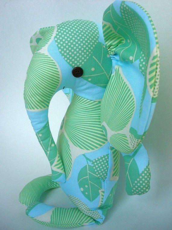 Elodie Elephant PDF Doll Pattern by bitofwhimsyprims on Etsy, $11.00