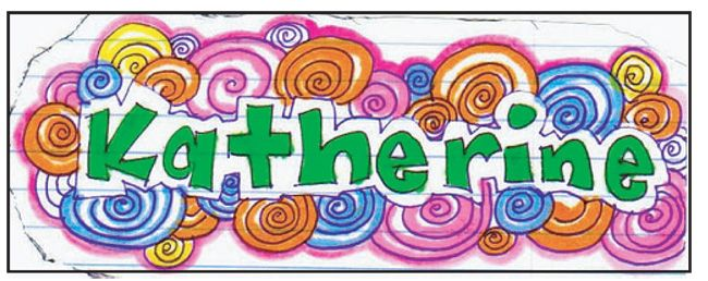 Doodle Name Art Art Projects For Kids Name Art Projects Name Design Art School Art Projects